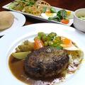 料理メニュー写真とちぎ和牛100%ハンバーグステーキ
