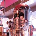 格エスプレッソマシーン設置!カフェ利用にもオススメです。