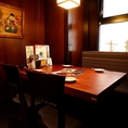 【津田沼駅3分】仕事終わりの同僚とのちょっとしたサク飲みにもおすすめの4名様までの少人数様向けテーブル席です。
