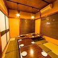 2階は貸切宴会個室。宴会コース使用で利用可能 6名様から25名様で貸切利用できます!