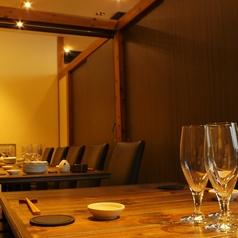 会社宴会にもおすすめの半個室席は4名程度~最大17名様までご利用可能です!