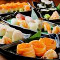 料理メニュー写真人気のお寿司