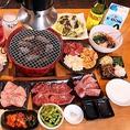 お肉だけでなく、サイドメニューも種類豊富♪お肉の箸休めに、ナムルやキムチも各種ご用意!〆に嬉しい、ご飯・麺類も美味です。是非お召し上がり下さい。