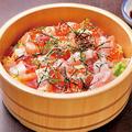 料理メニュー写真海の幸のちらし寿司