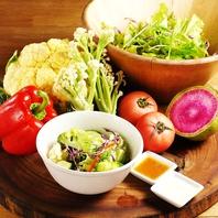 柏の農家でとれた新鮮野菜が堪能いただけます♪