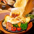 料理メニュー写真焼きクアトロチーズの鉄板オーブン焼き<各種>