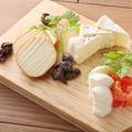 料理メニュー写真チーズ3種の盛り合わせ