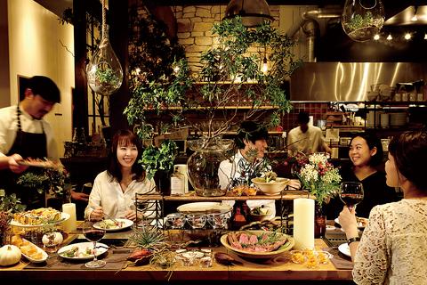 特別な夜を彩るお料理と空間で、素敵な時間を。GRILL&MEAT STORE BUTCHER