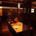 【半個室4名~8名×4】10名様前後の飲み会にもピッタリなお席も充実◎様々なシーンの宴会にご対応いたします♪