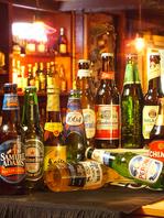 シャムロックでは樽生5種&ボトルビールも充実♪