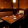 6名様までご利用可能なテーブル席です。ちょっとした宴会・飲み会にも最適!楽しいひと時をお過ごしください!
