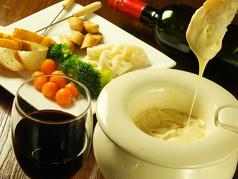 料理メニュー写真チーズフォンヂュ
