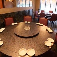 最大10名様までご利用いただけます。中華ならではの円卓を囲んで中華料理をお楽しみ下さい♪円卓席は完全個室です。周りを気にせず、くつろぎながらお過ごしいただけます!プライベート空間で素敵な時間を…