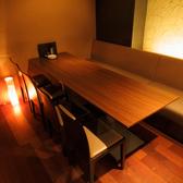 4~6名テーブル。30名迄フロア貸切もOK!新橋の居酒屋を貸切できます。