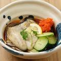 料理メニュー写真大粒 生牡蠣ポン酢