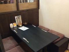 テーブル個室も充実!