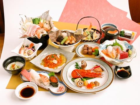 豊富なメニューが自慢の美味しい和食店。大小宴会、会食など様々なシーンに利用可。