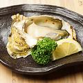 料理メニュー写真大粒 生牡蠣浜焼き