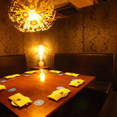 雰囲気バツグンの完全個室。宴会、女子会、コンパなどにどうぞ♪【梅田 茶屋町 個室 ソファー 宴会 合コン コンパ 女子会 誕生日 記念日 パーティー 梅酒】