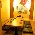 特別感あふれる8名様用完全個室が人気!
