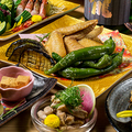 料理メニュー写真海鮮だけではなく地鶏料理も自慢の一つです