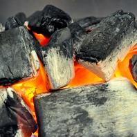 炭火で焼き上げる絶品!串焼き