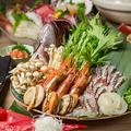 料理メニュー写真最大3時間飲み放題をつけて3000円からご用意しております。