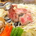 肉の油が縁の野菜を香ばしく焼き上げます!!