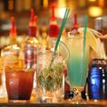 飲み放題の種類はなんと120種類以上♪バーならではの、バラエティに富んだドリンクの数で皆さんをおもてなし致します♪