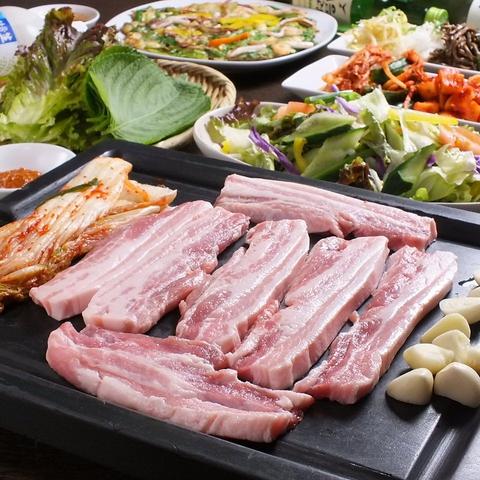 本場韓国料理&家庭料理が楽しめる!忘年会含む各種ご宴会コースあります♪