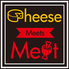 Cheese Meets Meat SUIDOBASHIのロゴ