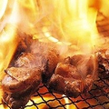 料理メニュー写真地鶏もも焼き