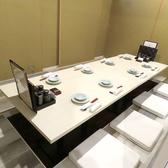 掘り炬燵個室は仕切りを外して最大60名様のご宴会が可能な空間をご用意いたします。お客様の人数に合わせて個室をご用意致しますのでどうぞお気軽にご相談ください!ご予約はお早めに♪