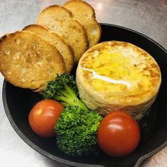 「とろーり!熱々!」焼きカマンベールチーズ