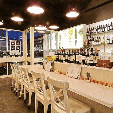 植田ワイン食堂 ほんわかぱっぱとほっこりまんまの雰囲気1