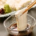 料理メニュー写真引き揚げ湯葉のお刺身