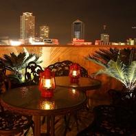 ●雰囲気たっぷりの夜景席で三宮一望の個室イタリアン●
