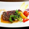 料理メニュー写真◆牛ハラミステーキ~ガーリックソース