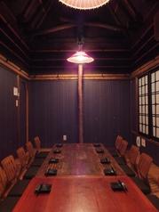 3階のプライベート個室は10名様まで。