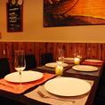 テーブル席は記念日・女子会に大人気★少人数での飲み会から、大人数の宴会でもご利用頂けます。