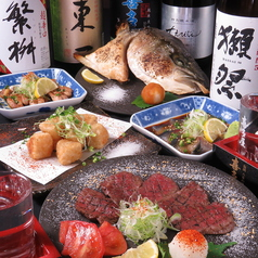ダイニング 居酒屋 大栄 肴 肉 魚の写真