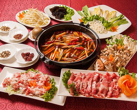 北京、上海、広東、四川の料理人が魅せる[本格中華] 20~30名様用のお席もご用意!