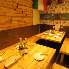 肉バル イタリアン 虹 東三国の雰囲気1