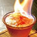 料理メニュー写真~数量限定~『炎』大人のプリン