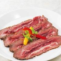 牛頬肉のスモーク焼き