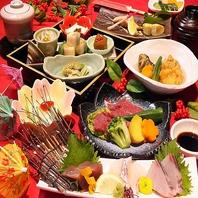 四季折々の食材を堪能。コースは飲放付き4500円~