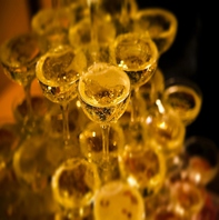 シャンパンタワーやデザート盛り合わせをご用意可能!
