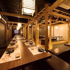 和装個室バル 肉屋汁兵衛 南越谷店の雰囲気1