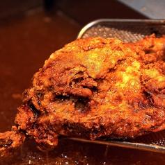 新潟名物 半羽揚げ  ひな鶏のカレー揚げ