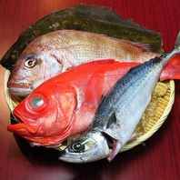 新鮮な鮮魚を使った魚料理の数々をお楽しみ下さい。